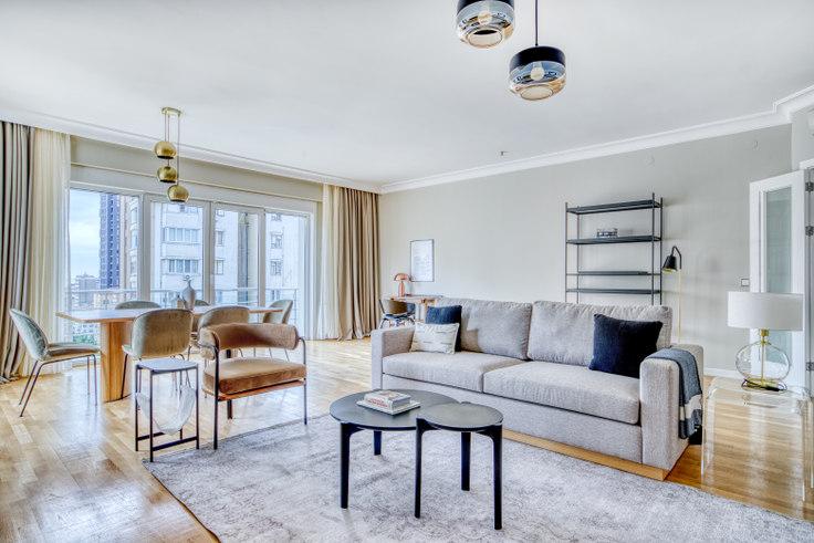4 bedroom furnished apartment in Sevgili - 654 654, Göztepe, Istanbul, photo 1