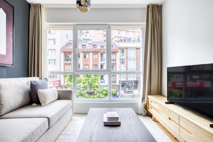 1 bedroom furnished apartment in Mint Şişli - 660 660, Sisli, Istanbul, photo 1