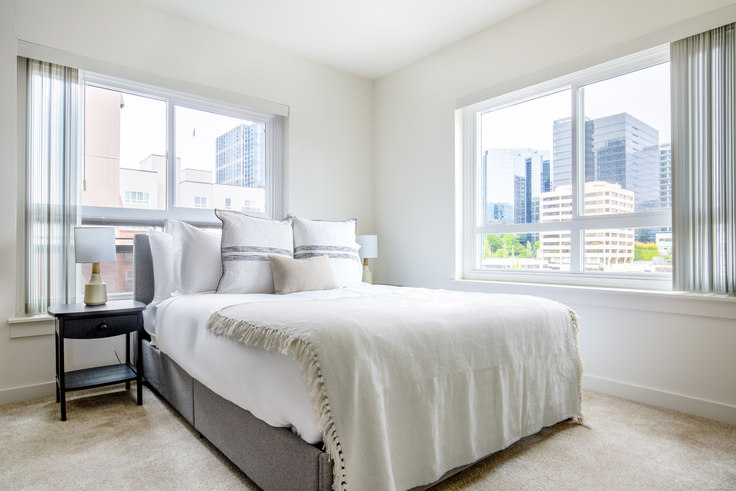 Studio furnished apartment in Avalon Maydenbauer - Bellevue, 10410 NE 2nd St 139, Bellevue, Seattle, photo 1