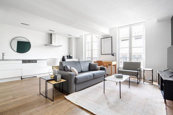 1 bedroom furnished apartment in Rue du Vertbois 78, Le Marais - République, Paris, photo 1