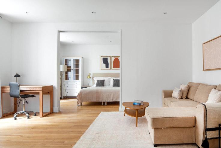 1 bedroom furnished apartment in Avenue Mac-Mahon 79, Arc de Triomphe, Paris, photo 1