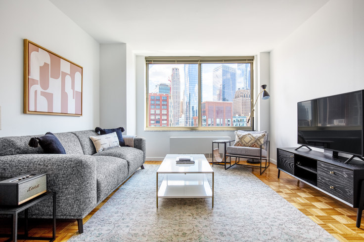 1 bedroom furnished apartment in Tribeca Park, 400 Chambers St 608, Tribeca, New York, photo 1