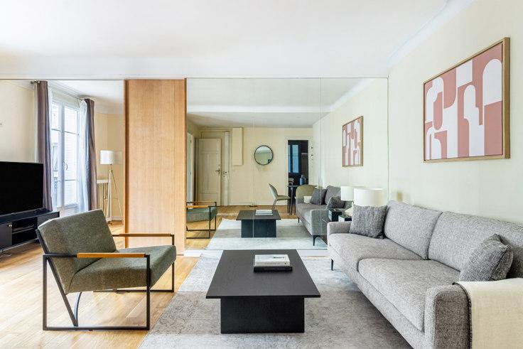 1 bedroom furnished apartment in Avenue Mac-Mahon 80, Arc de Triomphe, Paris, photo 1