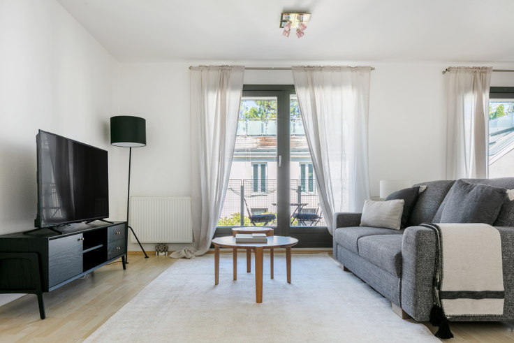 1 bedroom furnished apartment in Am Hundsturm 5 15, 5th district - Margareten, Vienna, photo 1