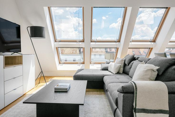 1 bedroom furnished apartment in Lassallestraße 25 16, 2nd district - Leopoldstadt, Vienna, photo 1