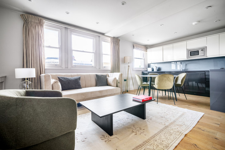 2 bedroom furnished apartment in Ladbroke Grove 54, Notting Hill, London, photo 1