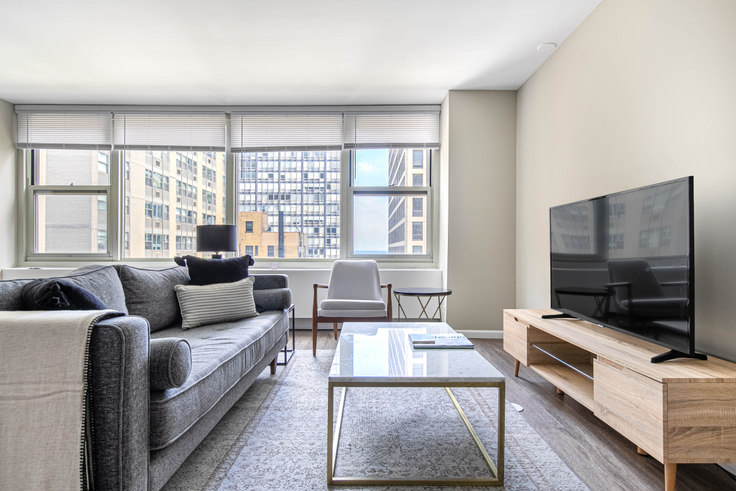 2 bedroom furnished apartment in Gold Coast City Club,  860 N Dewitt Pl 389, Gold Coast, Chicago, photo 1