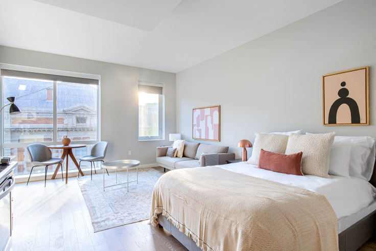 Studio furnished apartment in Estate, 3 Tingey Sq 274, Navy Yard, Washington D.C., photo 1