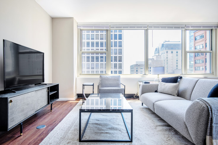 3 bedroom furnished apartment in Gold Coast City Club,  860 N Dewitt Pl 392, Gold Coast, Chicago, photo 1