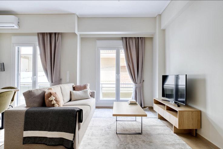 3 bedroom furnished apartment in Polemokratous 1016, Pangrati, Athens, photo 1