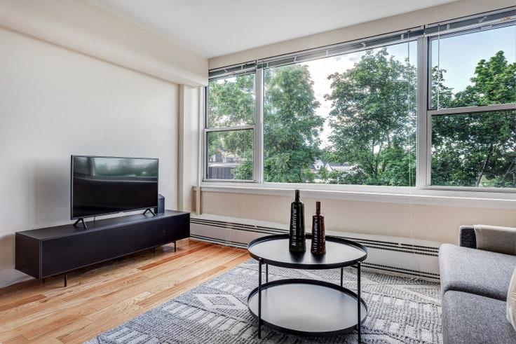 Studio furnished apartment in 1440 Beacon Street 415, Brookline, Boston, photo 1
