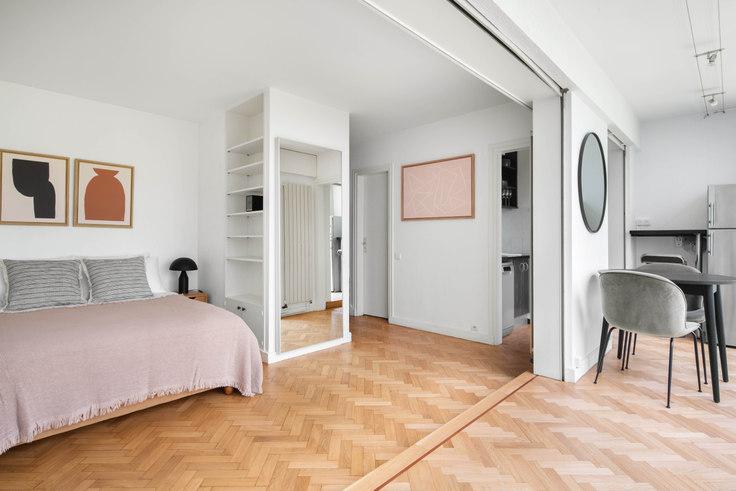 Studio furnished apartment in Rue de l'Abbé Grégoire 83, Saint-Germain-des-Prés, Paris, photo 1