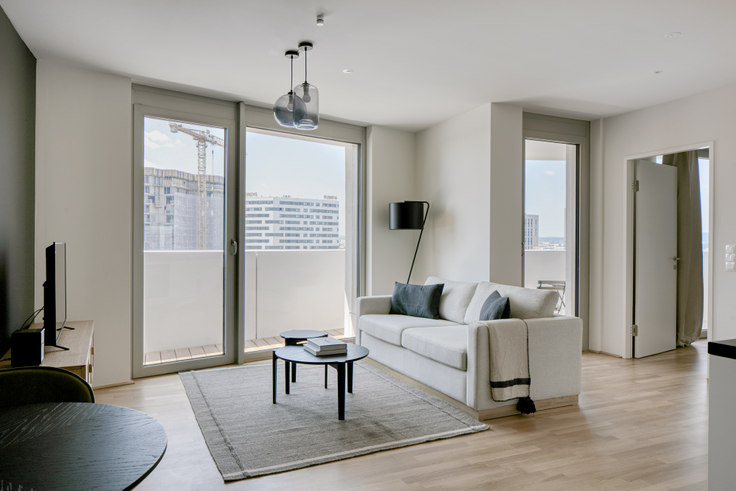 1 bedroom furnished apartment in Arsenalstraße 8 21, 10th district - Favoriten, Vienna, photo 1