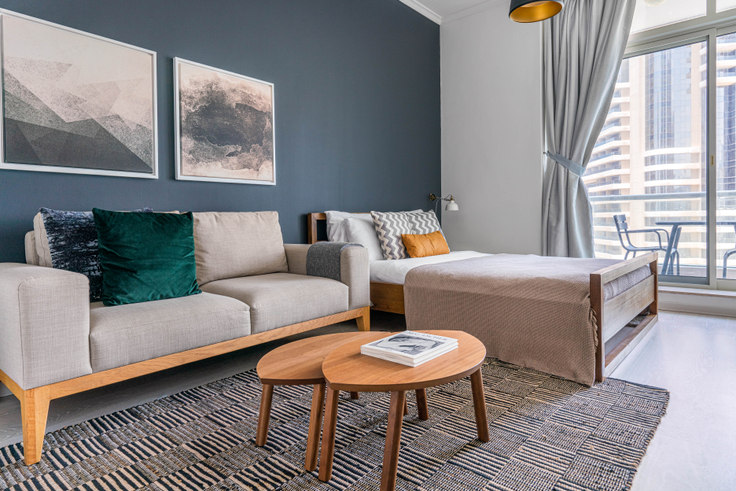 Studio furnished apartment in Botanica Studio II 770, Botanica Tower, Dubai, photo 1