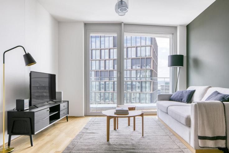 1 bedroom furnished apartment in Arsenalstraße 8 48, 10th district - Favoriten, Vienna, photo 1
