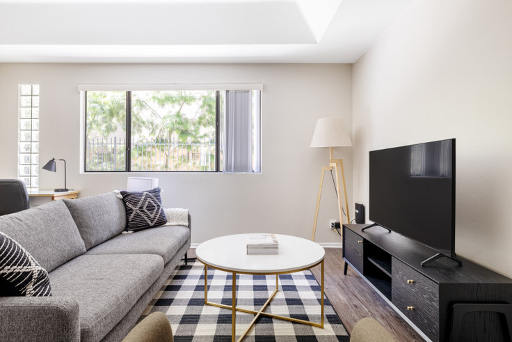 2 bedroom furnished apartment in 1423 Curson, 1423 N Curson Ave 457, West Hollywood, Los Angeles, photo 1