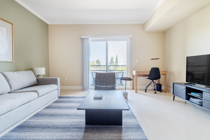 2 bedroom furnished apartment in Balmoral Apartments, 3585 Agate Dr 554, Santa Clara, San Francisco Bay Area, photo 1