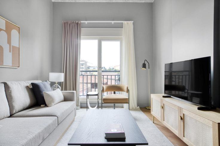 1 bedroom furnished apartment in Emirgan Apartments -  669 669, Emirgan, Istanbul, photo 1