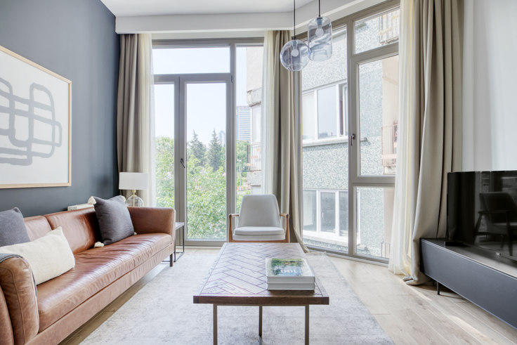 1 bedroom furnished apartment in Propa Plus Residence - 676 676, Esentepe, Istanbul, photo 1