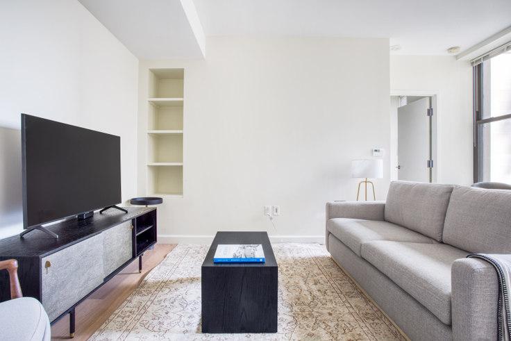 1 bedroom furnished apartment in The Arlington, 100 Arlington St 418, Back Bay, Boston, photo 1