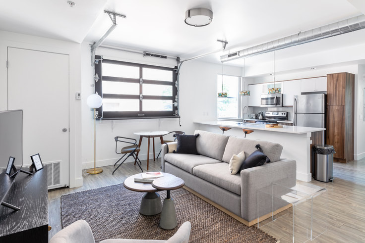 2 bedroom furnished apartment in Observatory Park Place, 2350 S University Blvd 20, University, Denver, photo 1