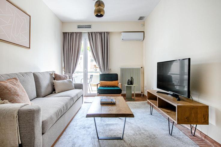 3 bedroom furnished apartment in Antinoros 1029, Pangrati, Athens, photo 1