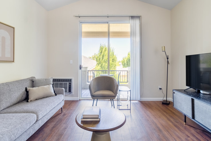 1 bedroom furnished apartment in Forge Homestead Apartments, 20661 Forge Way 562, Cupertino, San Francisco Bay Area, photo 1
