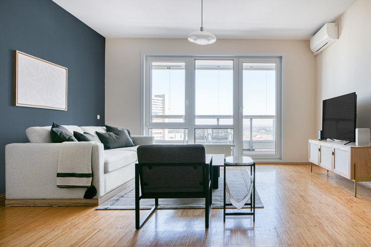 2 bedroom furnished apartment in Leonard-Bernstein-Straße 8 25, 22nd district - Donaustadt, Vienna, photo 1