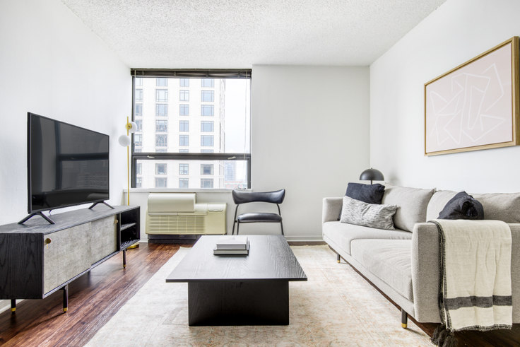 1 bedroom furnished apartment in Lake Shore Plaza,  445 E Ohio St 411, Streeterville, Chicago, photo 1