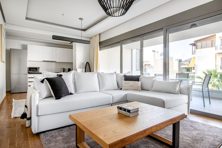 2 bedroom furnished apartment in Lasithiou 1036, Glyfada, Athens, photo 1