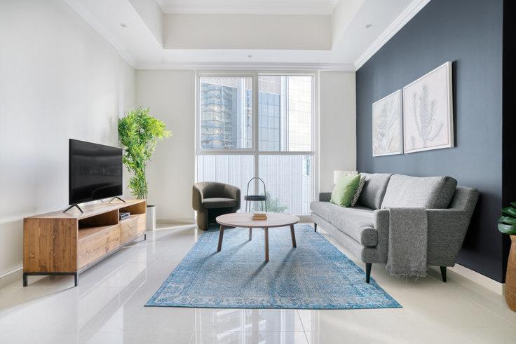 1 bedroom furnished apartment in Dunya Apartment V 789, Dunya Tower, Dubai, photo 1