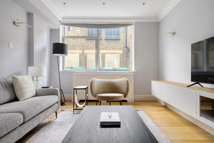 2 bedroom furnished apartment in Marylebone Rd 62, Marylebone, London, photo 1
