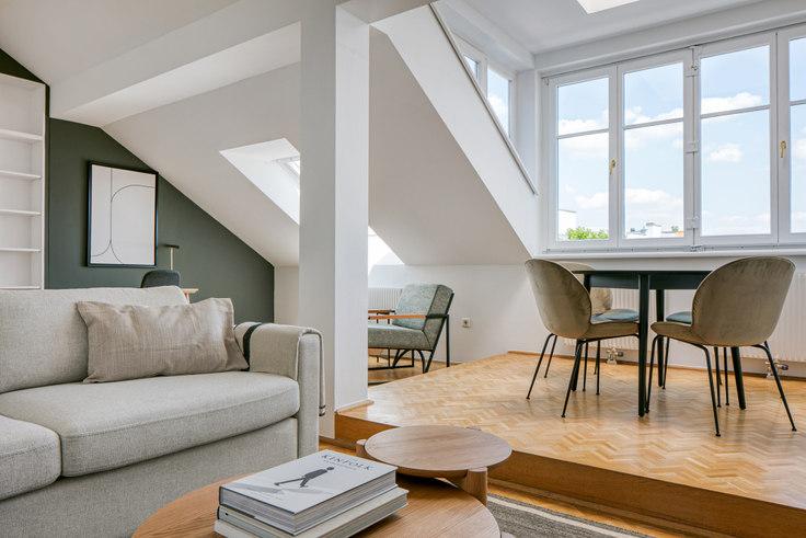 2 bedroom furnished apartment in Halbgasse 25 26, 7th District - Neubau, Vienna, photo 1