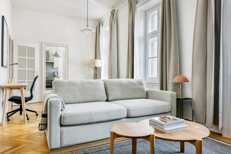 Studio furnished apartment in Halbgasse 25 27, 7th District - Neubau, Vienna, photo 1