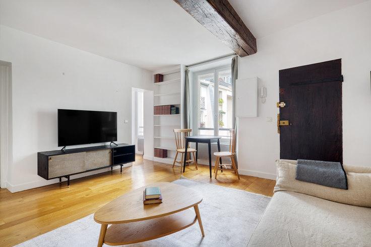 Studio furnished apartment in Rue Jacob 88, Saint-Germain-des-Prés, Paris, photo 1