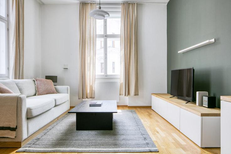 1 bedroom furnished apartment in Heinzelmanngasse 17 28, 20th district - Brigittenau, Vienna, photo 1