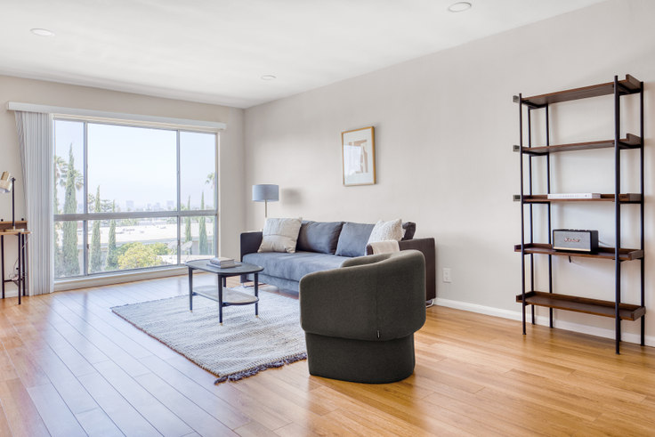 1 bedroom furnished apartment in 1635 N Martel Ave 471, Hollywood, Los Angeles, photo 1