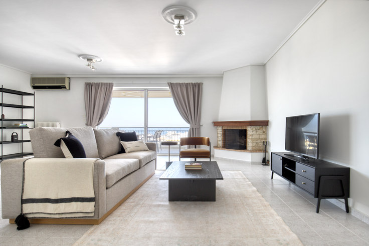 2 bedroom furnished apartment in Nikis 1038, Alimos, Athens, photo 1