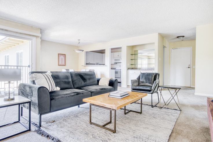 2 bedroom furnished apartment in Oak Creek 7 Apartments, 1400 Oak Creek Dr 571, Palo Alto, San Francisco Bay Area, photo 1