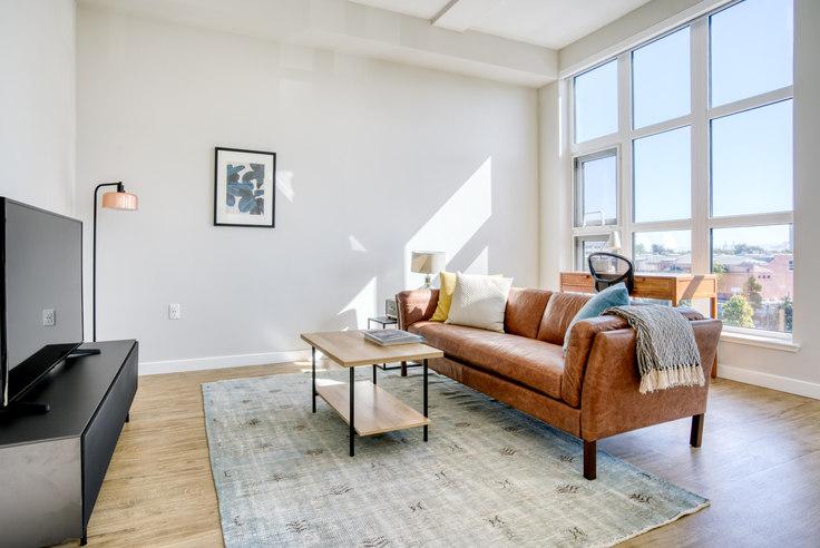Studio furnished apartment in Avalon Public Market 2, 6251 Shellmound St 575, Emeryville, San Francisco Bay Area, photo 1