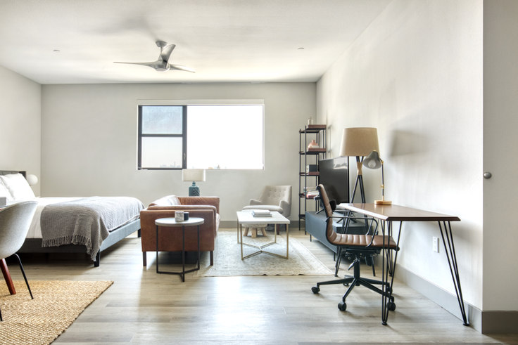 Studio furnished apartment in The Mansfield, 5100 Wilshire Blvd 476, Mid-Wilshire, Los Angeles, photo 1