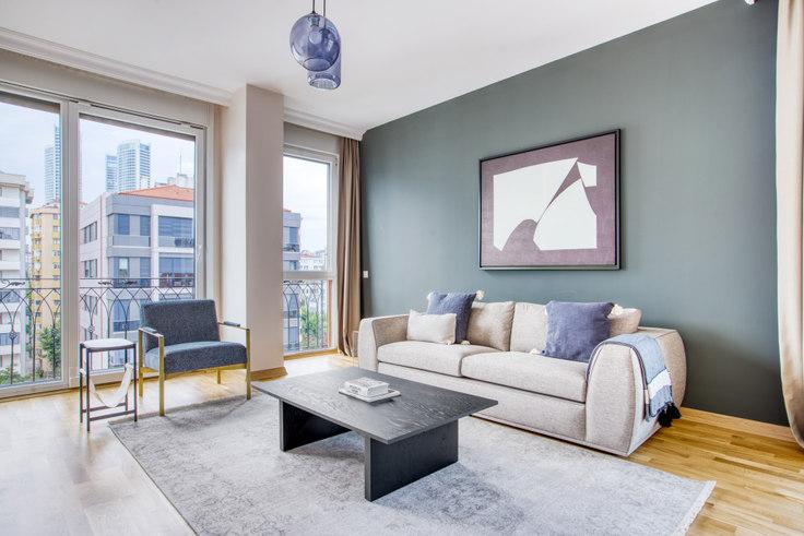 3 bedroom furnished apartment in Sedir Apartmanı - 680 680, Fenerbahçe, Istanbul, photo 1