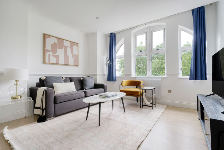 1 bedroom furnished apartment in Fitzroy Square 68, Fitzrovia, London, photo 1