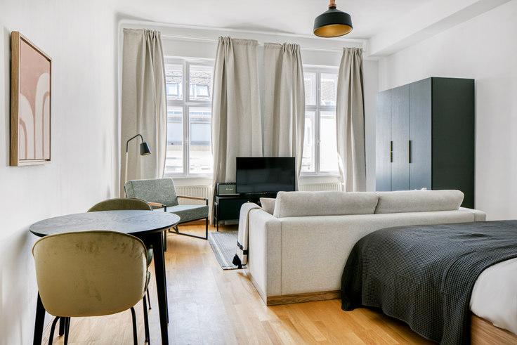 Studio furnished apartment in Breitenfelder G. 18 30, 8th district - Josefstadt, Vienna, photo 1
