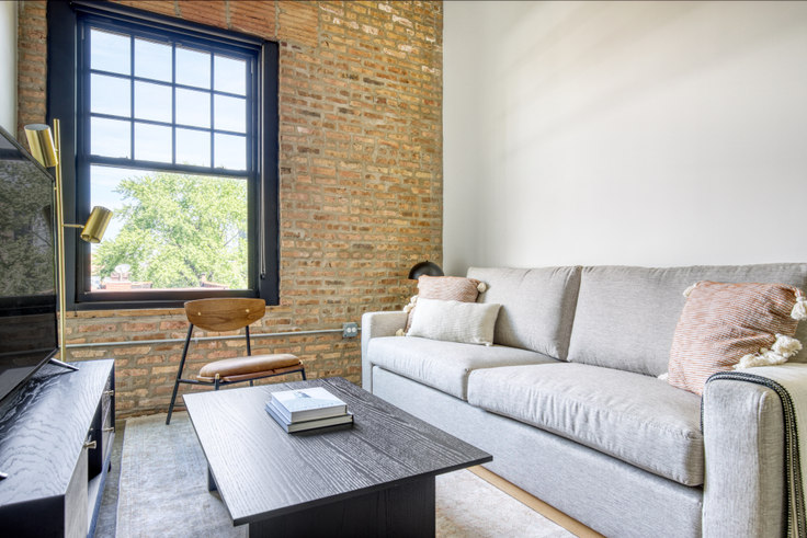 1 bedroom furnished apartment in The Duncan, 1515 W Monroe St 416, West Loop, Chicago, photo 1