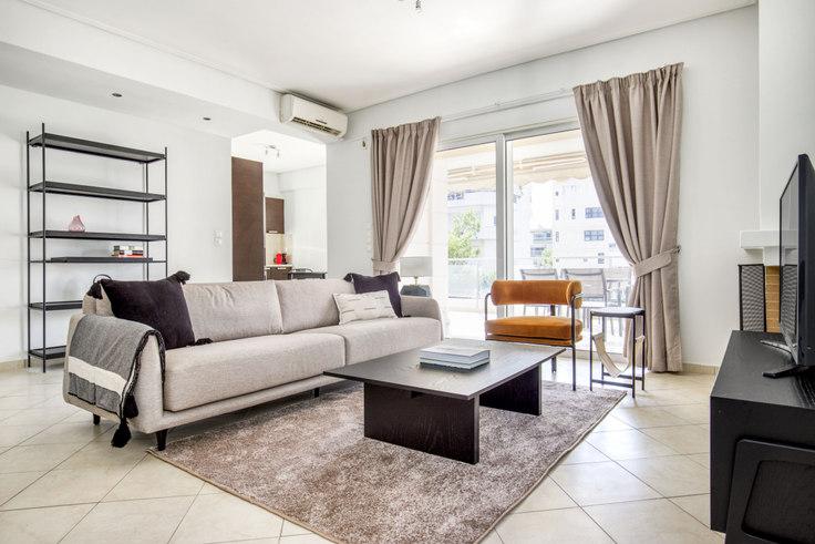 3 bedroom furnished apartment in Saki Karagiorga VII 1044, Glyfada, Athens, photo 1