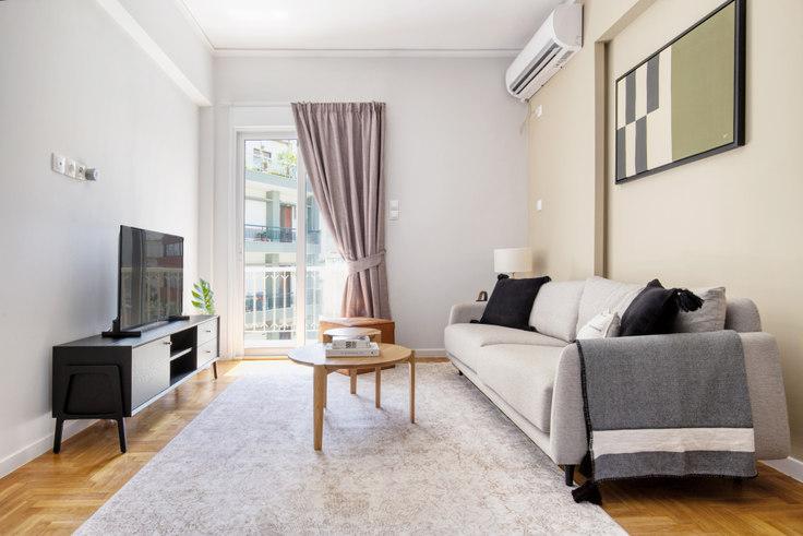 2 bedroom furnished apartment in Filochorou I 1045, Pangrati, Athens, photo 1