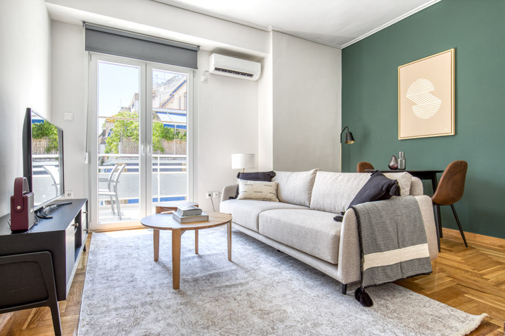 1 bedroom furnished apartment in Pasitelous Ι 1046, Pangrati, Athens, photo 1