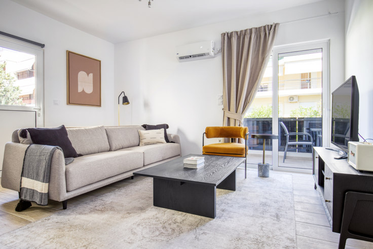 2 bedroom furnished apartment in Krinis II 1047, Voula, Athens, photo 1