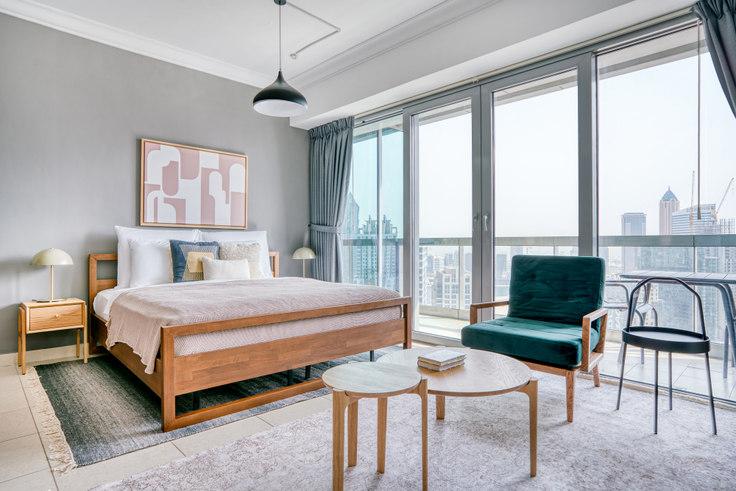 Studio furnished apartment in 8 Boulevard Studio III 805, 8 Boulevard Walk, Dubai, photo 1